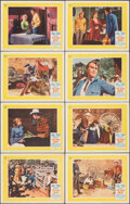 """Movie Posters:Western, The Rare Breed (Universal, 1966). Overall: Very Fine. Lobby Card Set of 8 (11"""" X 14""""). Western.. ... (Total: 8 Items)"""