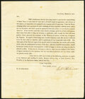 Early Letter Concerning Counterfeiting Not Graded