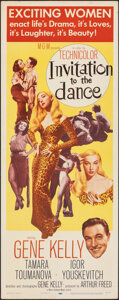 """Movie Posters:Musical, Invitation to the Dance (MGM, 1956). Folded, Very Fine-. Insert (14"""" X 36""""). Musical.. ..."""