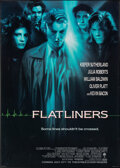 """Movie Posters:Thriller, Flatliners (Columbia, 1990). Very Fine- on Linen. One Sheet (27"""" X 41"""") Advance. Thriller.. ..."""