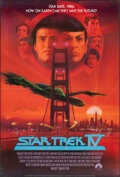 """Movie Posters:Science Fiction, Star Trek IV: The Voyage Home (Paramount, 1987). Folded, Very Fine. Autographed One Sheet (27"""" X 40"""") SS, Bob Peak Artwork. ..."""