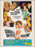 """Movie Posters:Comedy, Ghost in the Invisible Bikini (American International, 1966). Rolled, Very Fine+. Poster (30"""" X 40""""). Comedy.. ..."""