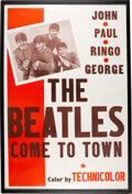 """The Beatles Come to Town (Pathé, 1963). One Sheet (27"""" X 42"""")"""