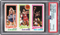 Basketball Cards:Singles (1980-Now), 1980 Topps Jan Van Breda Kolff/Julius Erving/Magic Johnson PSA Gem Mint 10. ...
