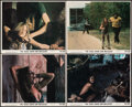 """Movie Posters:Horror, The Texas Chainsaw Massacre (Bryanston, 1974). Very Fine. Mini Lobby Cards (4) (8"""" X 10""""). Horror.. ... (Total: 4 Items)"""