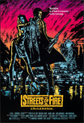 "Movie Posters:Action, Streets of Fire (Universal, 1984). Rolled, Very Fine+. One Sheet (27"" X 40""). Action.. ..."