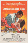 "Movie Posters:Academy Award Winners, Gone with the Wind (MGM, R-1968). Folded, Very Fine. One Sheet (27"" X 41"") Howard Terpning Artwork. Academy Award Winners.. ..."