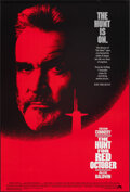 "Movie Posters:Thriller, The Hunt for Red October (Paramount, 1990). Rolled, Very Fine+. One Sheet (27"" X 40"") SS. Thriller.. ..."