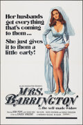 "Movie Posters:Adult, Mrs. Barrington & Other Lot (Monarch, 1974). Folded, Very Fine. One Sheets (2) (27"" X 41""). Adult.. ... (Total: 2 Items)"