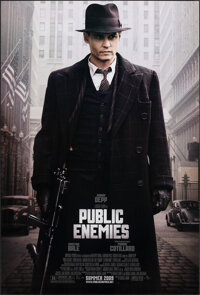 "Public Enemies & Other Lot (Universal, 2009). Rolled, Very Fine+. One Sheets (2) (27"" X 40"") DS Regular &a..."