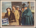 """Movie Posters:Mystery, Pursuit to Algiers (Universal, 1945). Very Fine-. Lobby Card (11"""" X 14""""). Mystery.. ..."""