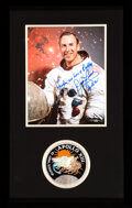 Explorers:Space Exploration, Apollo 13: Lovell Signed, with Famous Quote, White Spacesu...