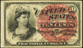 Fractional Currency:Fourth Issue, Fr. 1259 10¢ Fourth Issue Very Fine.. ...