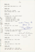 Explorers:Space Exploration, Apollo 11 Crew: Training-Used Launch Operations Checklist ...