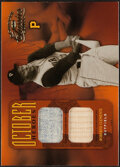 Baseball Cards:Singles (1970-Now), 2004 Donruss Classics October Heroes Roberto Clemente Jersey/Bat Relic #OH-6 - Serial Numbered 1/5....