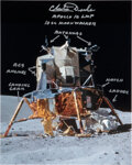 Explorers:Space Exploration, Charlie Duke Signed and Annotated Apollo 16 Lunar Module