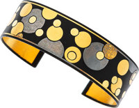 Lacquer, Gold, Silver, Iron Bracelet, Angela Cummings for Tiffany & Co