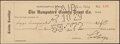 Autographs:Checks, 1929 Calvin Coolidge Signed Check. Upon the passi...