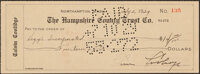 1929 Calvin Coolidge Signed Check