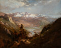 William Keith (American, 1838-1911) Snow in the Valley of Eastern Sierras, circa 1875 Oil on canvas<