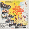 """Movie Posters:Comedy, Get Yourself a College Girl (MGM, 1964). Folded, Fine. Six Sheet (79"""" X 80""""). Comedy.. ..."""