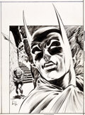 Original Comic Art:Covers, Bernie Wrightson Batman #320 Cover Original Art (DC Comics, 1980)....