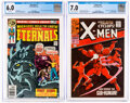 Silver Age (1956-1969):Superhero, X-Men #41/The Eternals #1 CGC-Graded Group (Marvel, 1968-76).... (Total: 2 Comic Books)