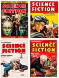 Pulps:Science Fiction, Assorted Science Fiction Digest-Format Pulps Box Lot (Various, 1950s) Condition: Average FN....