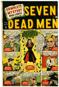 Golden Age (1938-1955):Crime, Complete Mystery #1 (Marvel, 1948) Condition: FN....