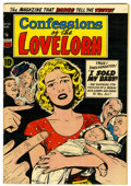 Golden Age (1938-1955):Romance, Confessions of the Lovelorn #52 (#1) (ACG, 1954) Condition: VF-....