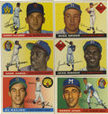 Baseball Cards:Lots, 1955 Topps Baseball Collection (83).Offered is a 1955 ToppsBaseball collection of 83 cards. Highlights include - #'s 4 Kali...