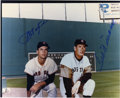 Autographs:Photos, Ted Williams and Carl Yastrzemski Signed Photograph . Two of theBoston Red Sox greatest players, Ted Williams and Carl Yas...