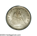 Seated Quarters: , 1840-O 25C Drapery MS64 PCGS. The scarcer of the two O-...