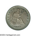 Seated Quarters: , 1843 25C MS65 PCGS. While the 1843 is not one of the more ...