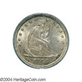 Seated Quarters: , 1844-O 25C MS63 PCGS. Briggs 1-A. The 44 in the date ...