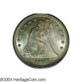 Seated Quarters: , 1861 25C MS66 PCGS. The 1861 is the last of the high ...
