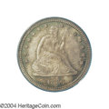 Seated Quarters: , 1883 25C MS65 PCGS. Unlike the preceding four P-mint ...