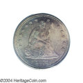 Proof Seated Quarters: , 1871 25C PR66 PCGS. Both sides of this proof issue (with ...