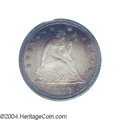 Proof Seated Quarters: , 1873 25C No Arrows PR66 PCGS. Ex: Benson Collection. Only ...