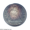 Proof Seated Quarters: , 1874 25C Arrows PR67 PCGS. Ex: Benson Collection. By the ...