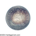Proof Seated Quarters: , 1887 25C PR67 PCGS. Ex: Benson Collection. The obverse is ...