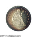 Proof Seated Quarters: , 1891 25C PR66 Cameo PCGS. Proponents of originality ...