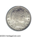 Barber Quarters: , 1900-S 25C MS65 PCGS. The 1900-S was produced to the ...