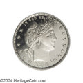 Proof Barber Quarters: , 1898 25C PR67 Deep Cameo PCGS. Our experience suggests ...