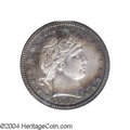 Proof Barber Quarters: , 1903 25C PR66 PCGS. Ex: Benson Collection. This is a ...