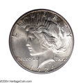 Peace Dollars: , 1924-S $1 MS65 PCGS. While not as elusive as 1925-S, ...
