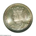 1893 25C Isabella Quarter MS68 PCGS. Graded MS69 by NGC. MS69 NGC Tag # 163965-001 accompanies this lot. Like the 1892-1...