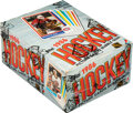 Hockey Cards:Unopened Packs/Display Boxes, 1986-87 Topps Hockey Wax Box With 36 Unopened Packs - Patrick Roy Rookie Year! ...