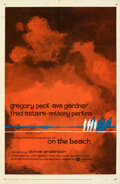 """Movie Posters:Science Fiction, On the Beach (United Artists, 1959). Folded, Very Fine-. One Sheet (27"""" X 41"""") Style B, Nicola Simbari Artwork.. ....."""