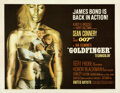 "Movie Posters:James Bond, Goldfinger (United Artists, 1964). Fine+ on Paper. Half Sheet (22"" X 28"").. ..."